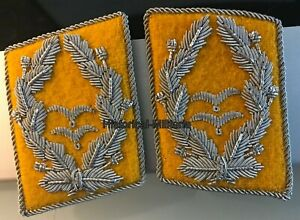 Luftwaffe-OBERSTLEUTNANT-Flieger-Kragenspiegel-Luftwaffe-Flight-collar-tabs