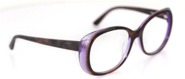 Jil Sander JS684s 211 Brille Braun/Lila glasses FASSUNG  *ohne Gläser 7 NO LENS*