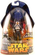 "Star Wars La Venganza De Los Sith arco Fighter Clon Piloto 3.75"" figura Moc Nice!"