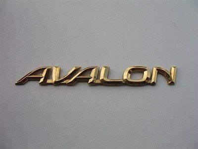 2001 TOYOTA AVALON XL REAR TRUNK CHROME EMBLEM LOGO DECAL BADGE 00 01 02 03 04