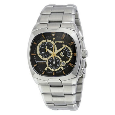 Citizen Mens Stainless Steel Chronograph Watch