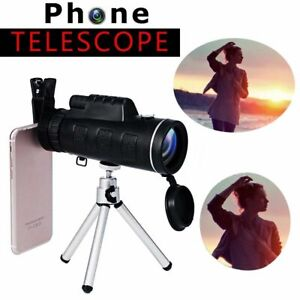 40X60-Zoom-Optical-HD-Lens-Monocular-Telescope-Tripod-Clip-Day-amp-Night-Vision