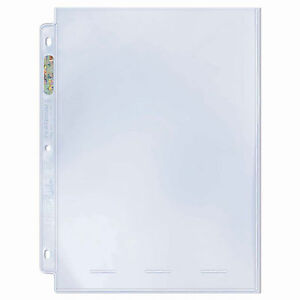 Ultra-Pro-Platinum-One-Pocket-Page-Photo-Size-25-ct