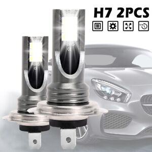 H7-200W-Car-LED-Headlight-Fog-Bulbs-CREE-Kit-6000K-HID-Canbus-Error-Free-2PCS