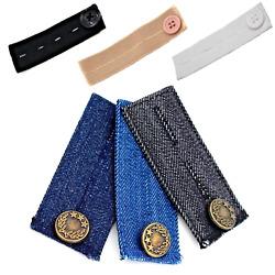 Jeans Hosenerweiterung Schwangerschaft elastisch mit Knopf Hosenbunderweiterung
