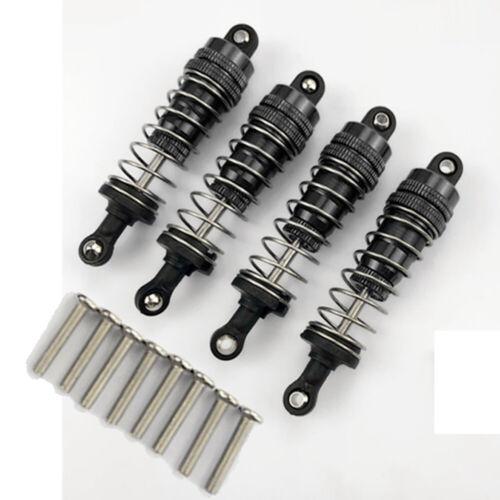 4PCS Ammortizzatori in metallo rimovibile per WLtoys 144001 1//14 4x4 Off Road RC Auto