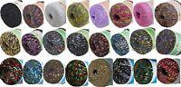 Twinkly Glitz Metallic Trellis Ladder Yarn, Colors Choose