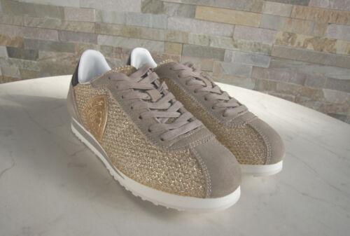 Schuhe € Beige 40 Neu Schnürschuhe 130 Uvp Usa Gold Sneakers Blauer Bowling Ehem HgqIwn