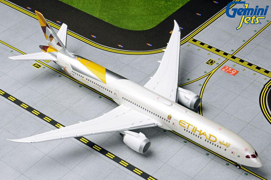 venta caliente en línea Gemini Jets Ethiad Boeing 787-10 787-10 787-10 1 400 Die-cast Modelo gjetd 1846 En Stock  salida de fábrica