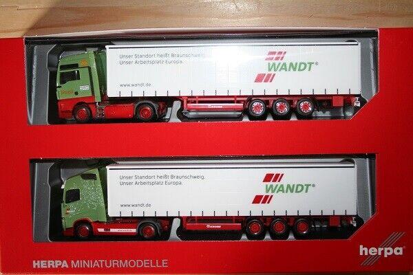 Herpa 310215 - 1 87 jubiläumsset avec deux modèles  80 ANS Transporteur rappelée