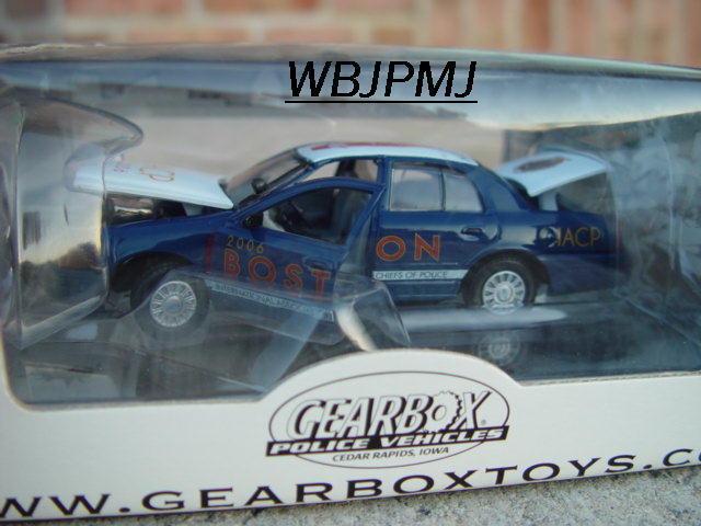 Boston policía Interceptor 2006 jefes jefes jefes Caja de Cambios Edición Limitada   468 de 2006 emitido ac43d0