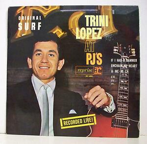 33-tours-TRINI-LOPEZ-Vinyl-Record-LP-12-034-ORIGINAL-SURF-RECOVERY-VOGUE-6021-EX