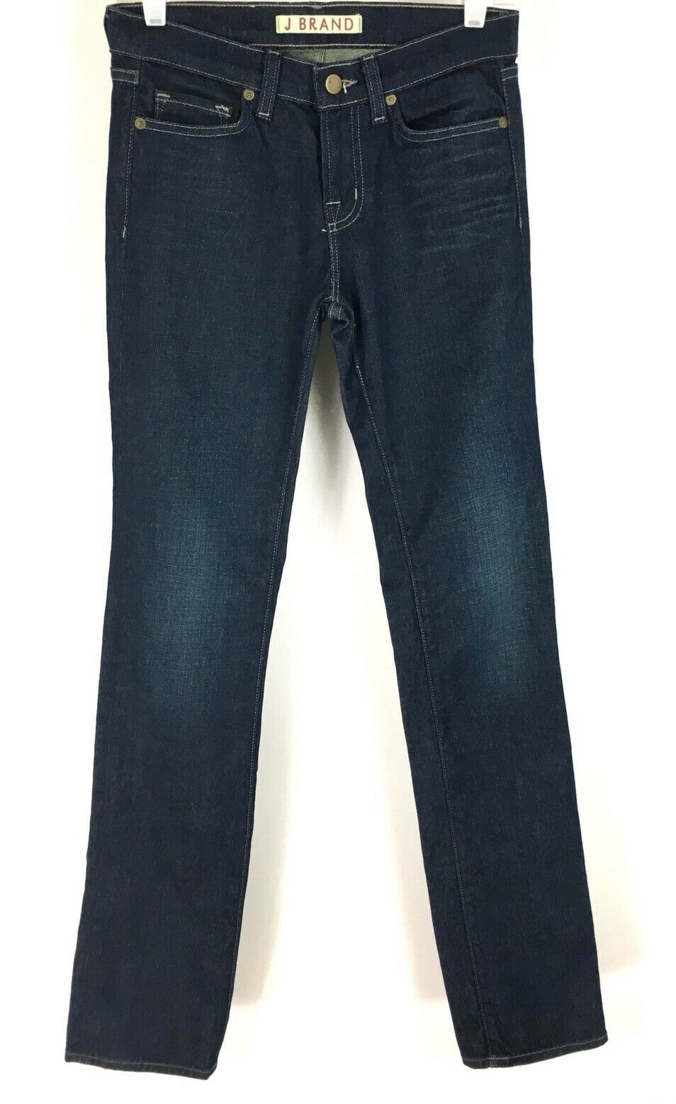 J Brand Womens The Cigarette Leg Jeans Slim Fit Stovepipe Mid Rise Size 26 NWT