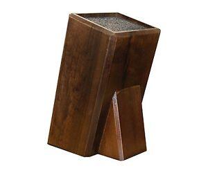 messerblock universal aus holz mit borsteneinsatz neu b ware ebay. Black Bedroom Furniture Sets. Home Design Ideas