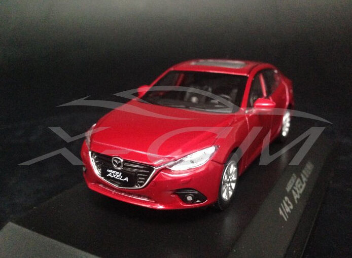 1 43 MAZDA 3 AXELA DIE CAST MODEL RED