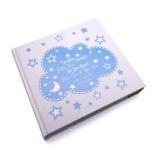 Personalised Baby Boy Photo Album Gift Gold Star Design FLPV-54