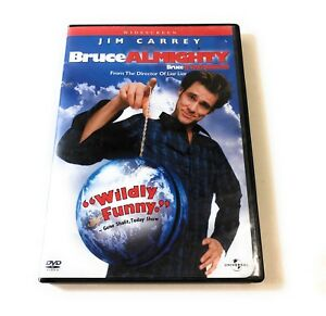 Bruce-Almighty-Widescreen-DVD-Video-Universal-Jim-Carry-Movies-w-Deleted-Scenes