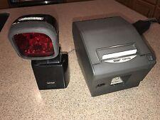 Metrologic Ms 6720 Scanner Amp Star Tsp700 Printer Point Of Sale Register
