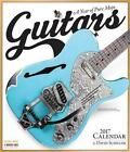 Guitars Wall Calendar 2017 by David Schiller