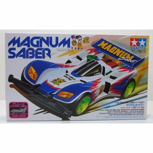 Tamiya full cowl four wheel drive mini series No.01 Magnum Saber Super chassi 1