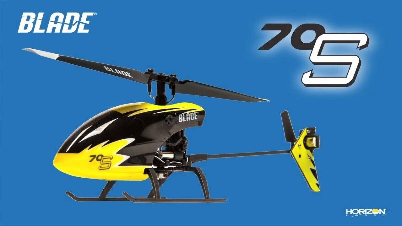 Blade BLH4200 70 S 70S listo para para volar en interiores Ultra-Micro Helicóptero Heli W tecnología SAFE  gran descuento