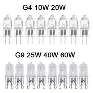 G4-G9-Halogene-Capsule-Ampoules-10-W-20-W-25-W-40-W-60-W-maison-d-039-eclairage-decoratifs