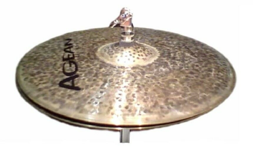 Agean Cymbals Natural Series 13-inch Natural Hi-Hats