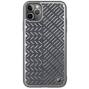 Nillkin-Herringbone-tissu-Hybride-Reflechissant-Housse-etui-pour-iPhone-11-Pro-Max