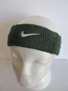 599b58f9c32 Image is loading Nike-Swoosh-Headband-Deep-Forest-White-OSFM-Men-