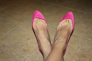 47a2e188993 Image is loading Christian-Louboutin-Maudissima-Hot-Pink-Fushia-Suede-100mm-
