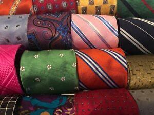 Lot-50-100-Silk-Neckties-Job-Suit-Wear-Quilting-Craft-Neck-Tie-Lots-Free-Ship