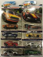 2016 Hot Wheels - Ford Performance - Set Of 8 Mustang Cars