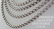 925 Sterlingsilber Venezianer kette Massive Panzer echt Silber Halskette 51 cm