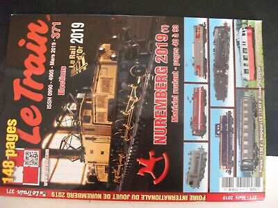 **ju Revue Le Train N°371 Nuremberg 2019 / Vossloh G 2000 / Autorails Vh