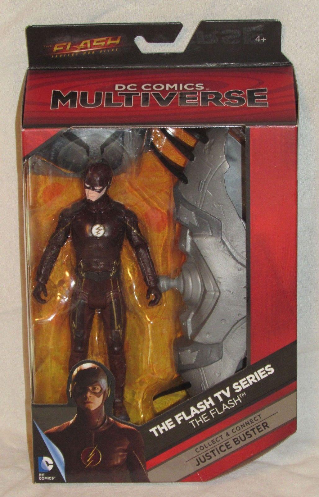 DC Universe Classics Multiverse Flash Reverse Flash set 2 Build Justice Buster