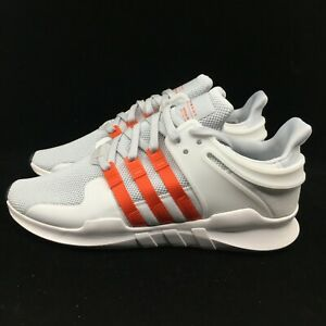 b8f4afc2938 Details about Adidas EQT Equipment Support ADV White Gray Bold Orange White  BY9581