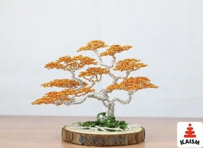 handcrafted for Room or office Decor Bosnia Wire Tree Sculpture