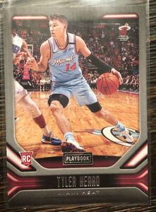 Tyler Herro 2019-20 Panini Chronicles Playbook NBA Rookie Card #185, PSA GEM 10?