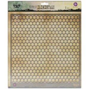 Scrapbooking galería de símbolos s-096 hojas vintage ~ stencil ~ Conv-Design