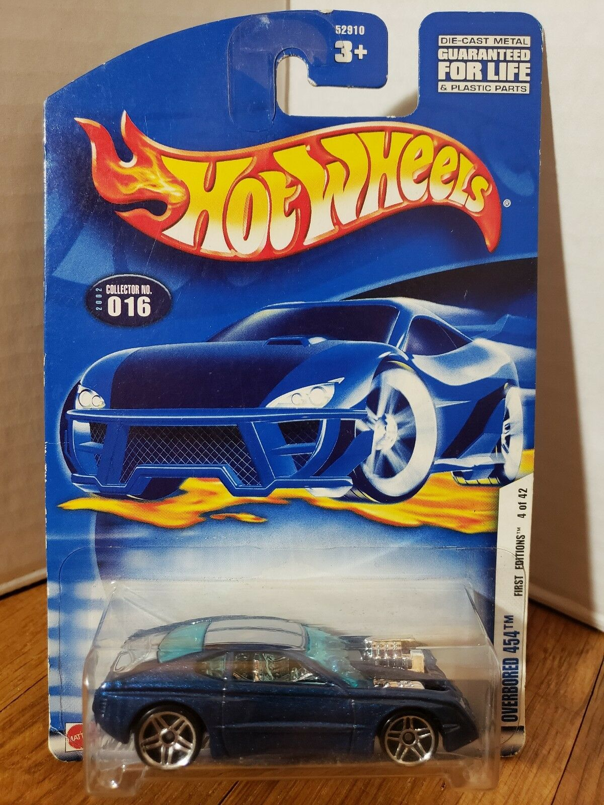 Hot Wheels 080 2000 First Edition Car Toy Blue for sale online