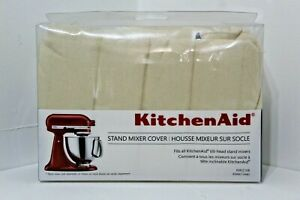 Genuine-KitchenAid-Tilt-Head-Stand-Kitchen-Mixer-Dust-Cover-Khaki-Beige-Lt-Brown