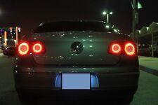LED Ringe Skyline  ROT und GELB für VW Passat 3C B6 Rückleuchten