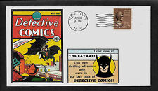 Detective Comics 27 Batman Featured on Collector's Envelope *A245