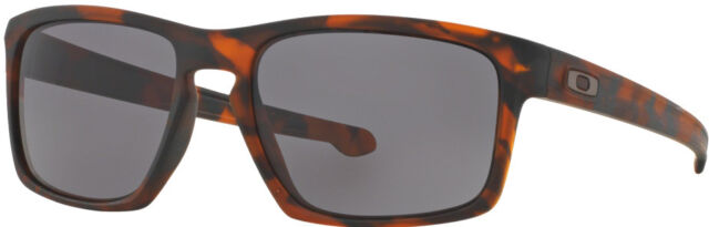 d2bd6f43f1 OAKLEY SLIVER   Matte TORTOISE brown   dark grey lens sunglasses OO9262-03  mens