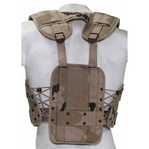 NUOVO Originale Holl Esercito Gilet Tactical Load Bearing BW inserto gilet Desert
