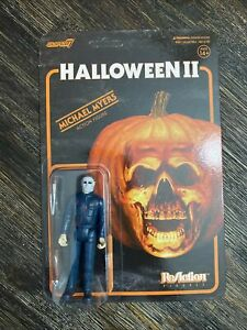 SUPER 7 REACTION HALLOWEEN II LAURIE STRODE UNPUNCHED ACTION FIGURE IN HND!