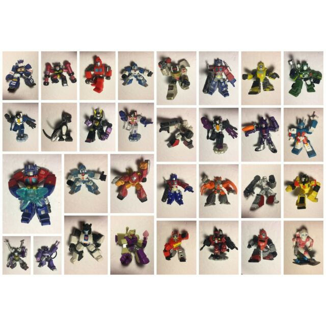 Transformers Robot Heroes - Lot of 31 (plus accessories)