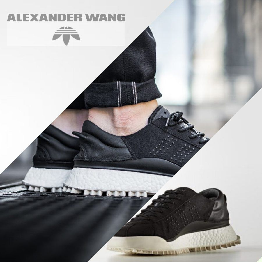 the latest 74122 1f273 Adidas Originals x Alexander Wang AW HIKE LO Sneakers Black AC6839 Size  4-11.