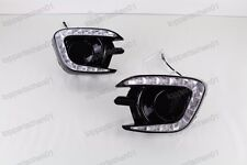 DRL LED Daytime Running Light Fog Lamps For Mitsubishi Pajero Sport 2013-2015