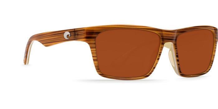 New Costa del Mar Hinano 580P Polarized Sunglasses Driftwood Khaki Copper